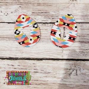 Jewelry - ✨New✨Bullskull Aztec Earrings!